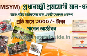 pension scheme in india for unorganised workers